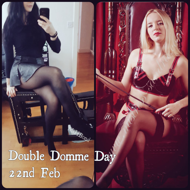 London-Mistress-Sandra-Double-Domme-Day-22nd-Feb